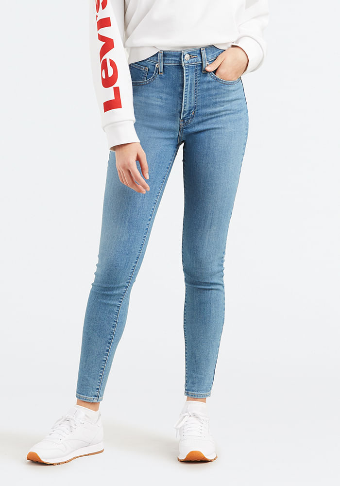 c216e59bcf Mile High Super Skinny Fit Jeans Math Club - Levis Chile