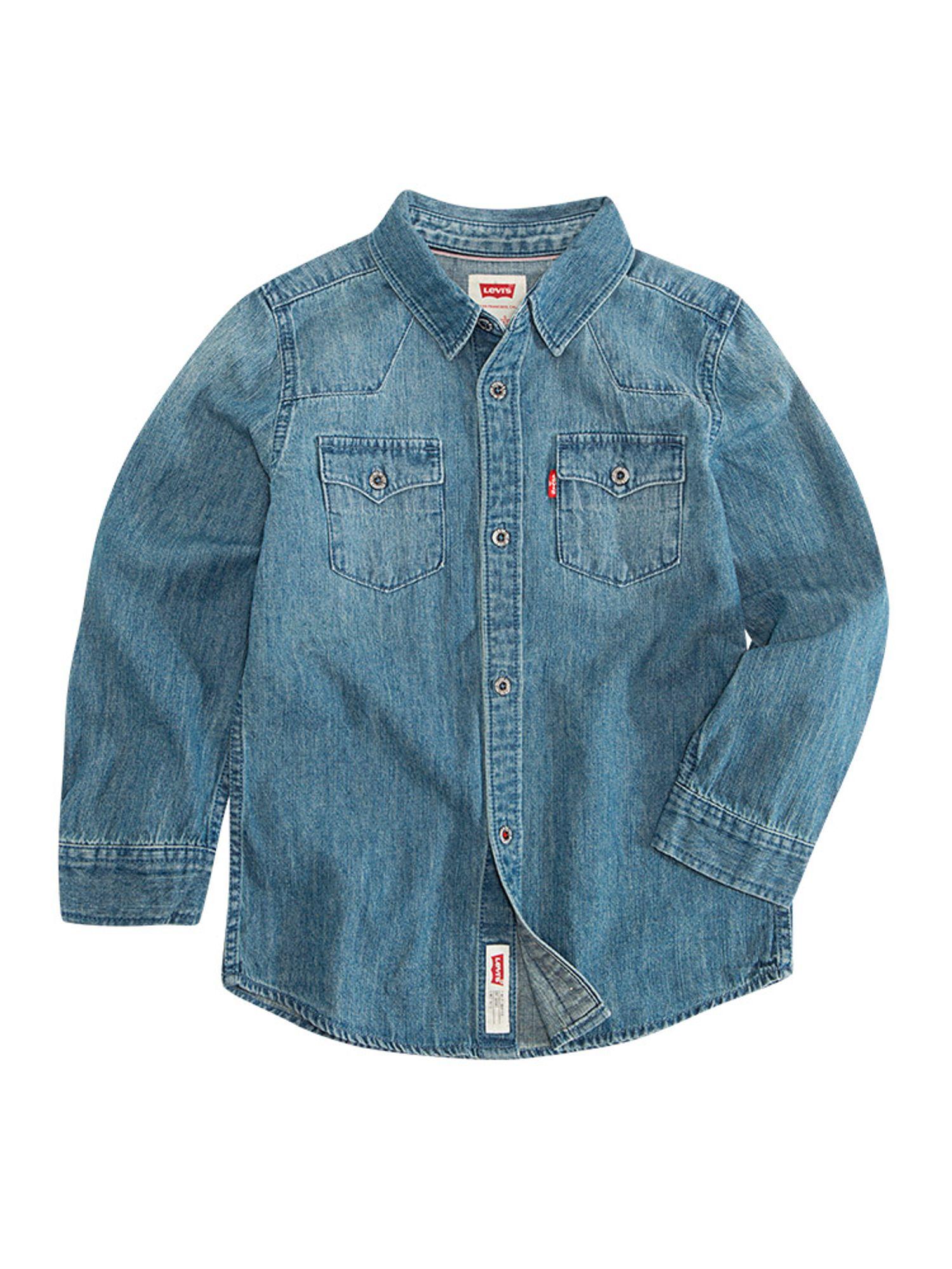 Camisa_Classic_Western_Denim_Vintage_Stone_-8-16_años-_1