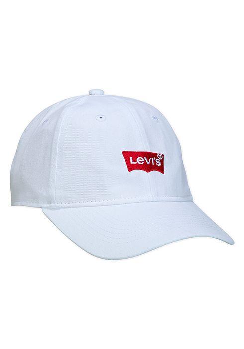 Jockey blanco con logo levis
