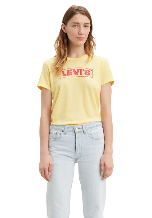 Polera_Levis_Box_Tab_Box_Tab_Outline_Pale_Banana_Graphic_1