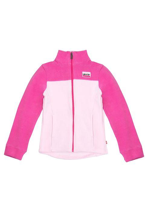 Girls_Fleece_Jacket_Sportswear_Logo_Pink_1