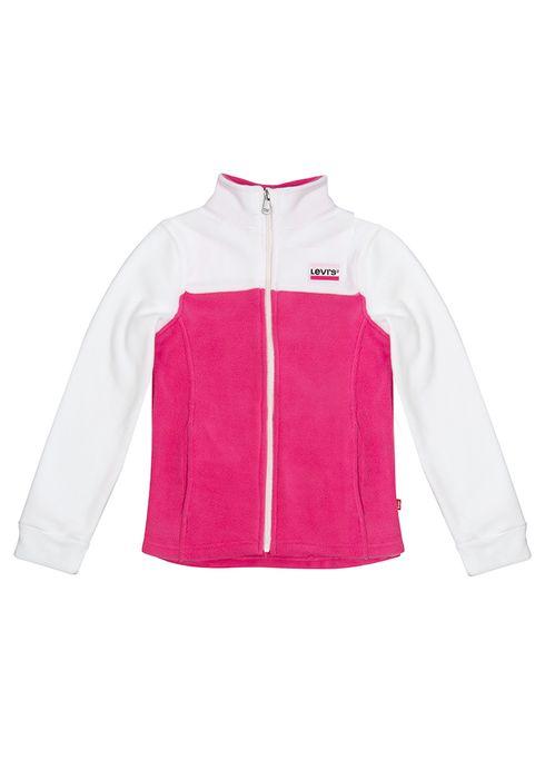 Girls_Fleece_Jacket_Sportswear_Logo_White_1